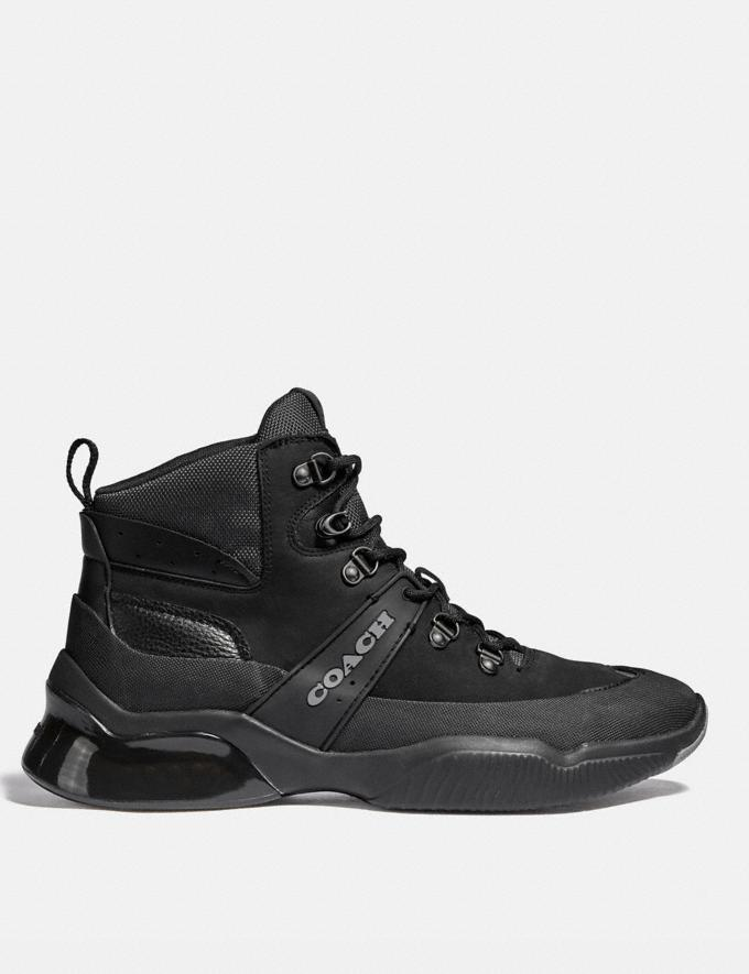 Coach Citysole Hiker Black Men Shoes Boots Alternate View 1