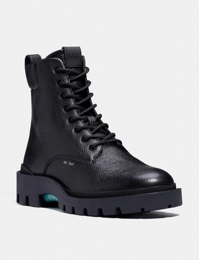 Coach Citysole Boot Black Men Shoes Boots