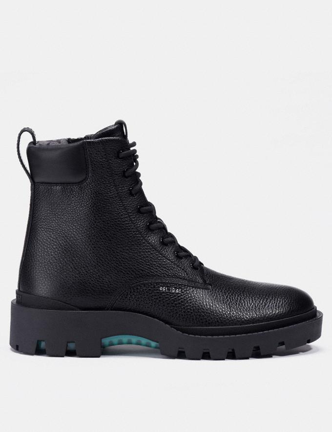 Coach Citysole Boot Black Men Shoes Boots Alternate View 1