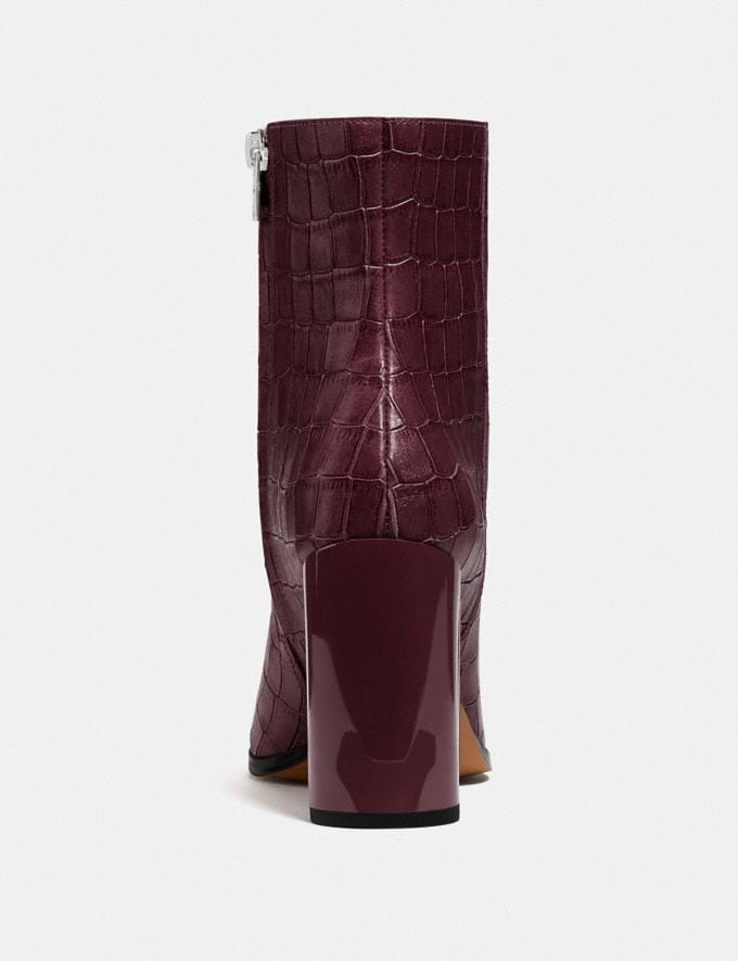 Coach Brielle Bootie Dark Cranberry Damen Schuhe Stiefel Alternative Ansicht 3