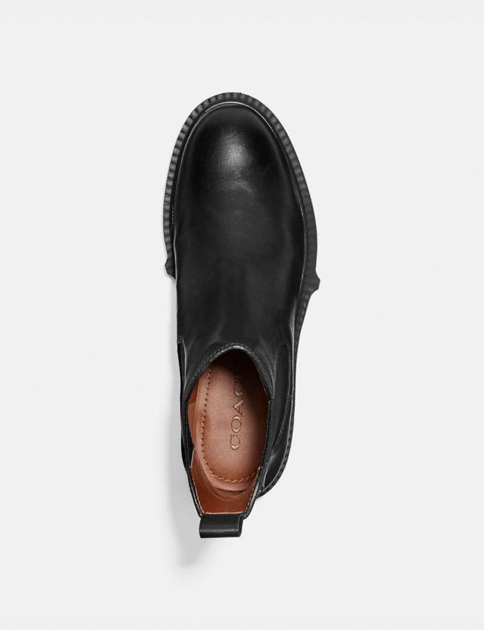 Coach Lyden Bootie Black Women Shoes Boots & Booties Alternate View 2