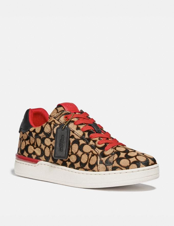 Coach Lowline Luxe Low Top Sneaker Natural