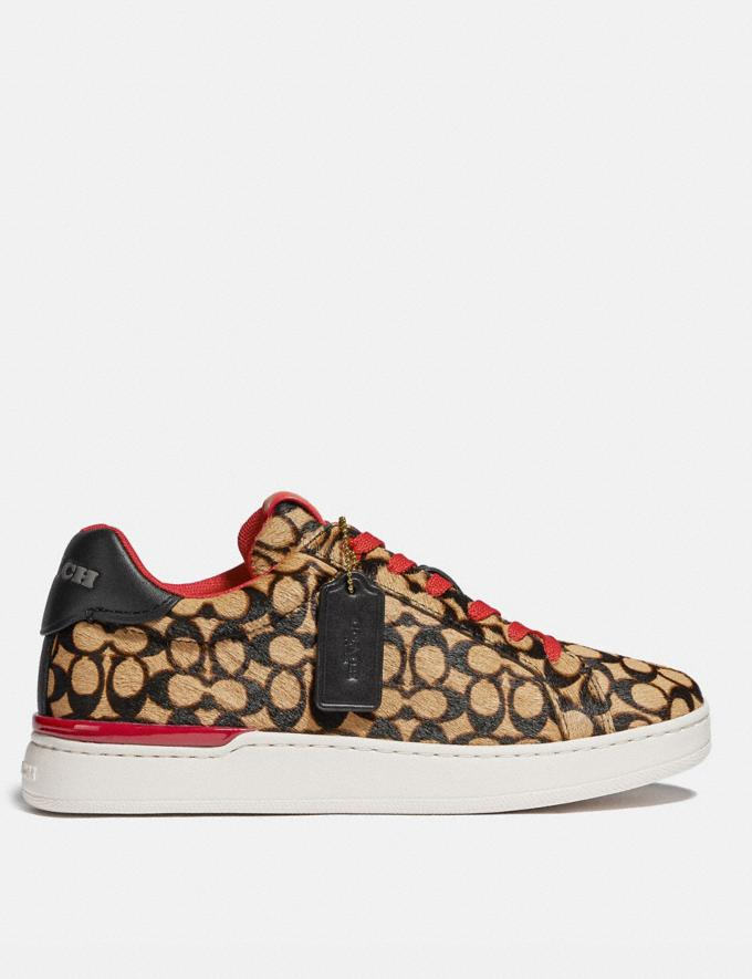 Coach Lowline Luxe Low Top Sneaker Natural  Vistas alternativas 1