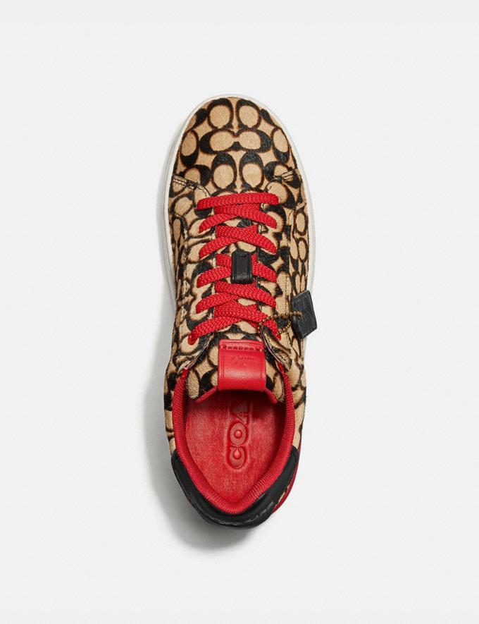 Coach Lowline Luxe Low Top Sneaker Natural  Vistas alternativas 2