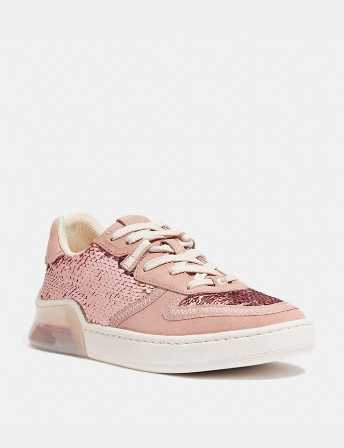 Coach Citysole Court Sneaker Rose Gold Women Shoes Sneakers