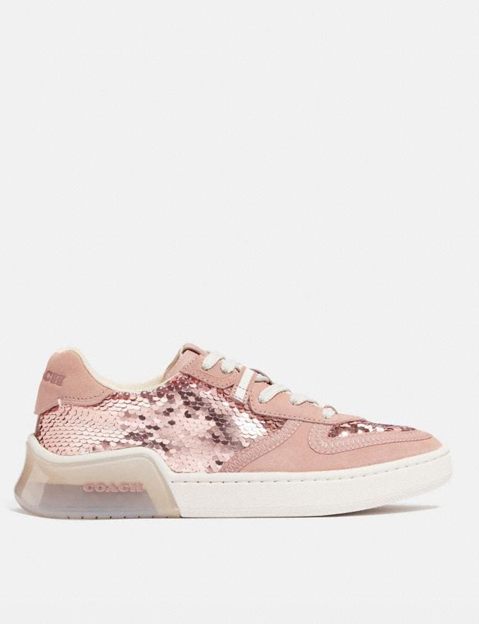 Coach Citysole Court Sneaker Rose Gold Women Shoes Sneakers Alternate View 1