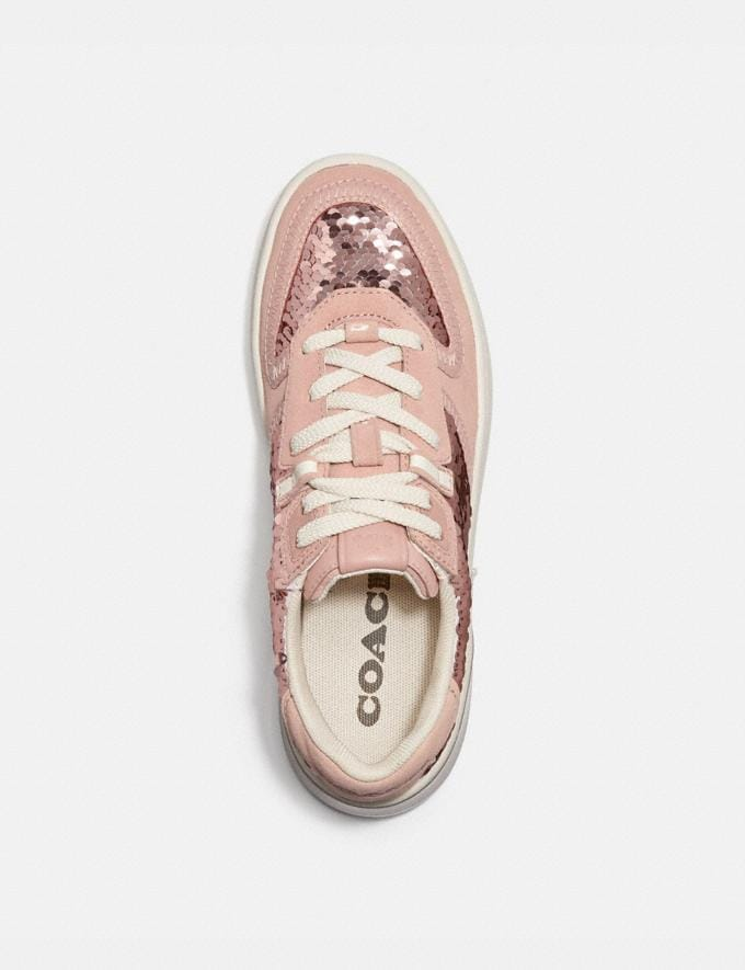 Coach Citysole Court Sneaker Rose Gold Women Shoes Sneakers Alternate View 2