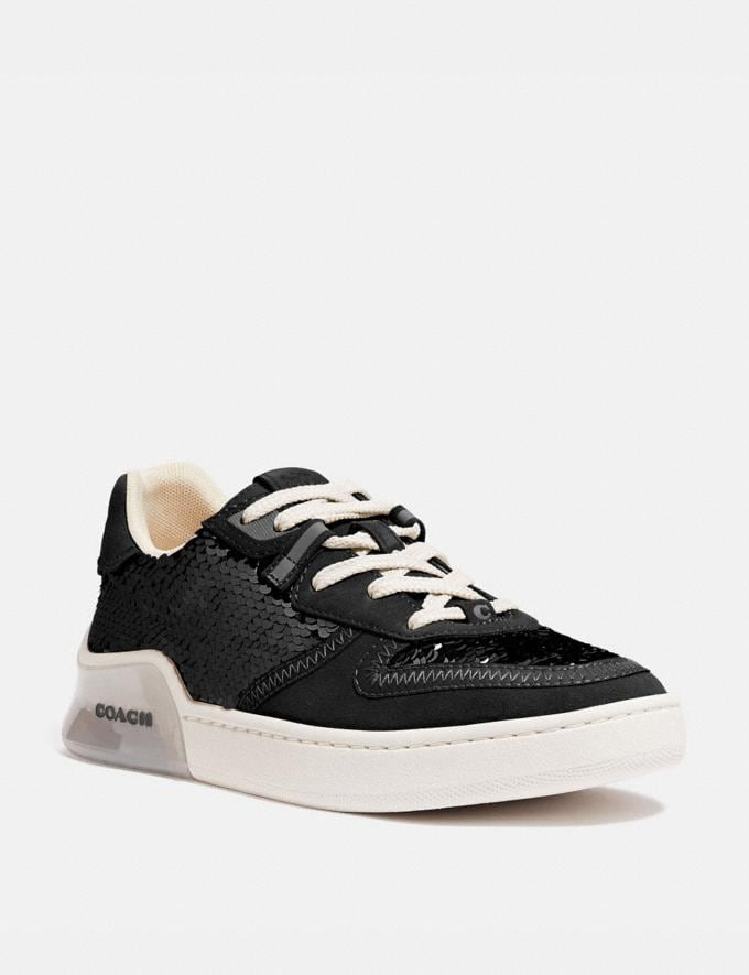 Coach Citysole Court Sneaker Black Women Shoes Trainers