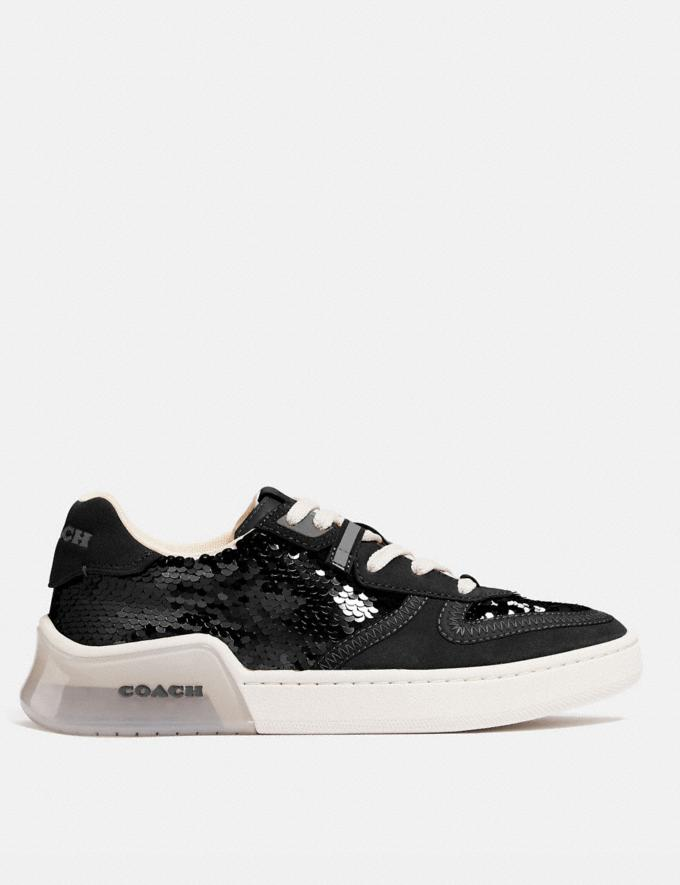 Coach Citysole Court Sneaker Black Women Shoes Trainers Alternate View 1