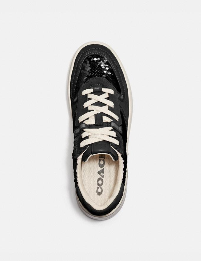 Coach Citysole Court Sneaker Black Women Shoes Trainers Alternate View 2
