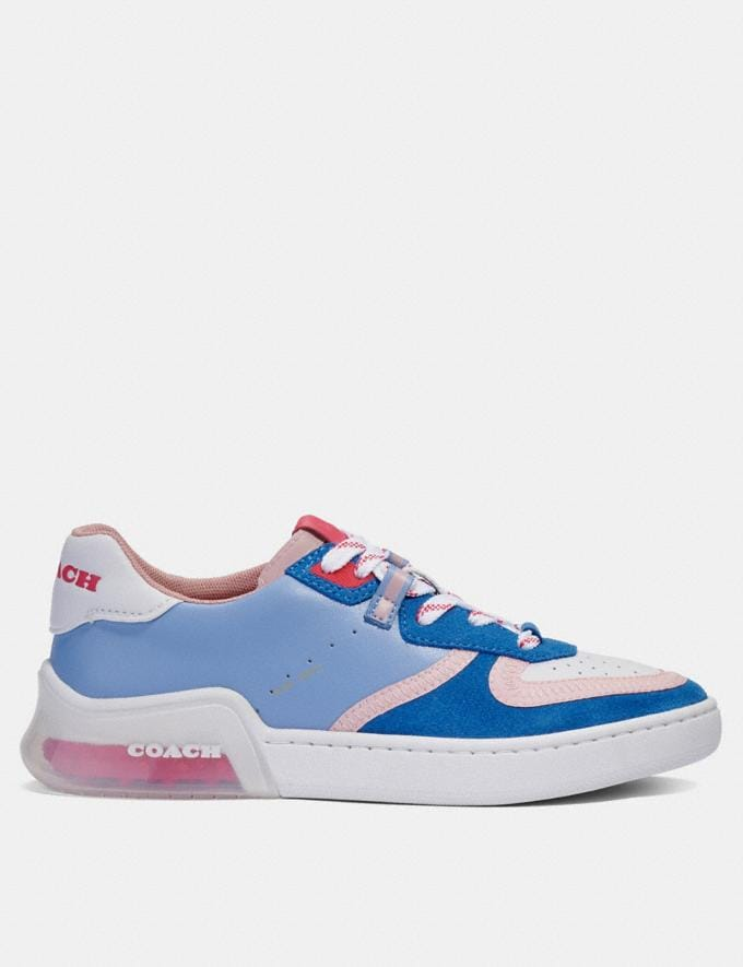 Coach Citysole Court Sneaker Periwinkle  Alternate View 1