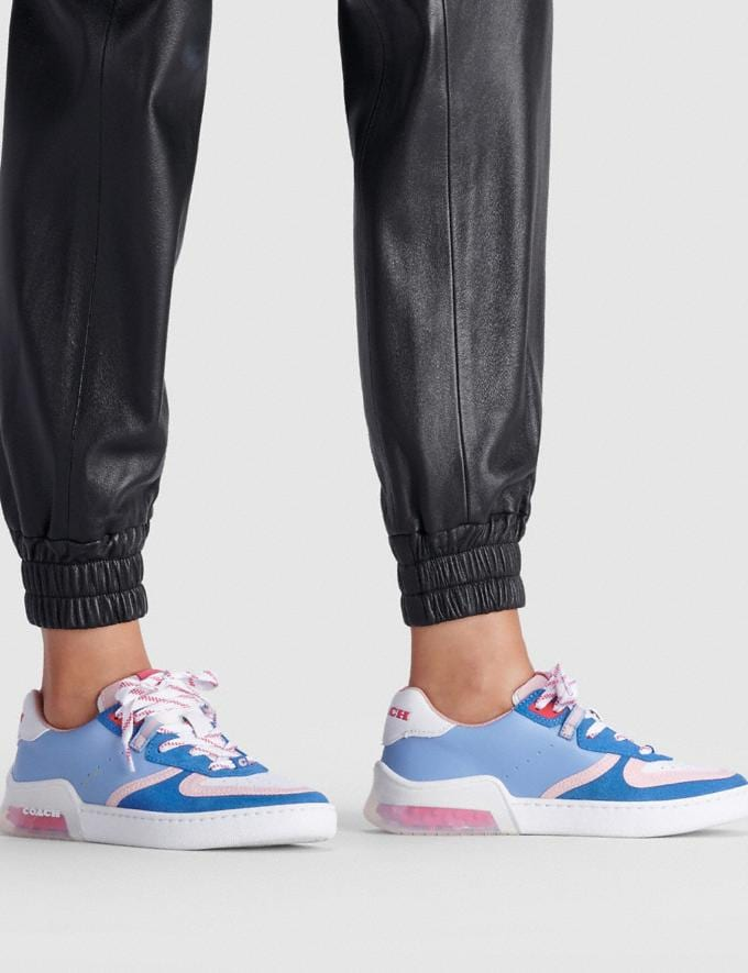 Coach Citysole Court Sneaker Periwinkle  Alternate View 4