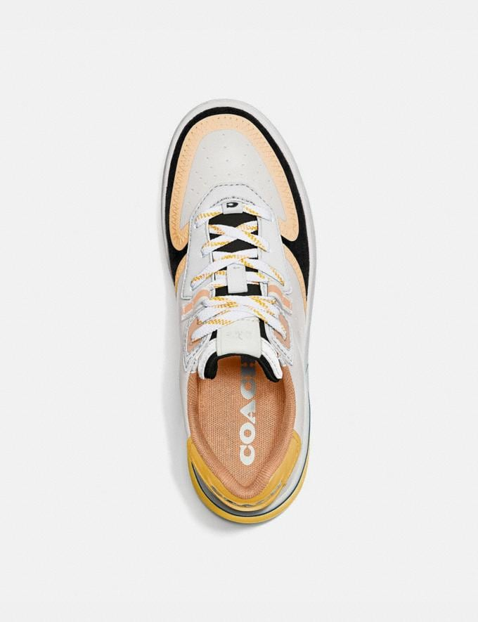 Coach Citysole Court Sneaker Optic White/Navy PRIVATE SALE Shop by Price 40% Off Alternate View 2