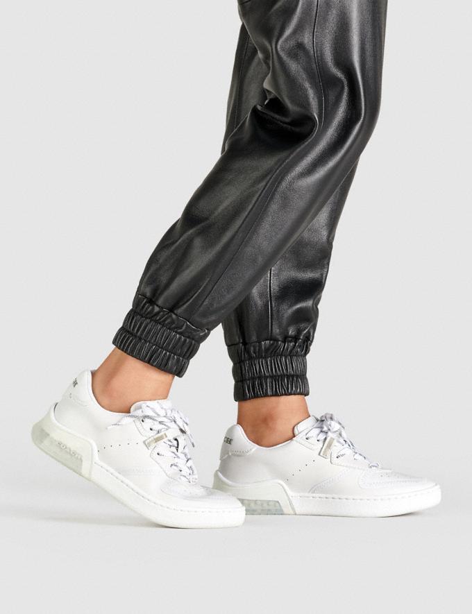 Coach Citysole Court Sneaker White DEFAULT_CATEGORY Alternate View 4