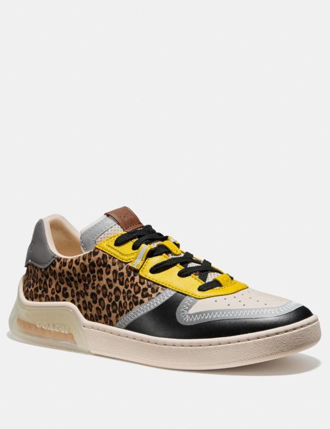 Coach Citysole Court Sneaker in Colorblock Blk/Chk/Hrclf