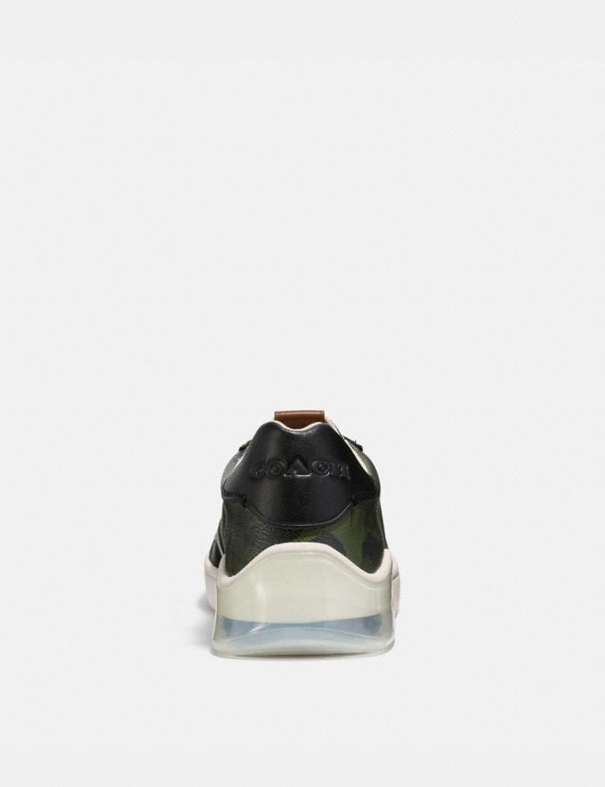 Coach Citysole Court Sneaker With Wild Beast Print Wild Beast Military  Alternate View 3