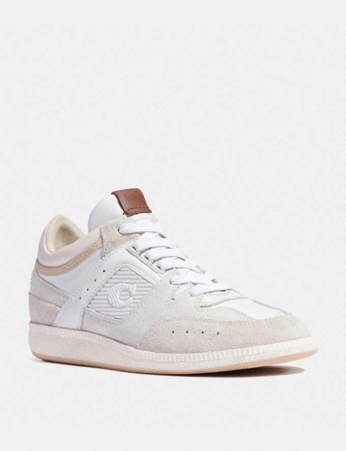 Coach Baskets Mi-Hautes Citysole Blanc Optique Nouveautés Nouveautés femmes Chaussures