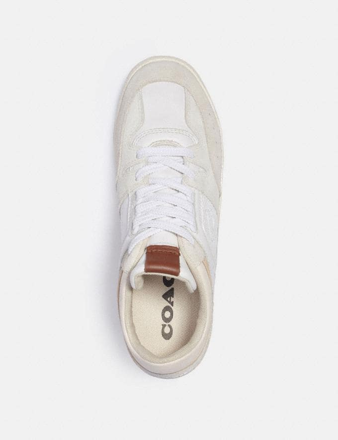 Coach Citysole Mid Top Sneaker Optic White  Alternate View 2