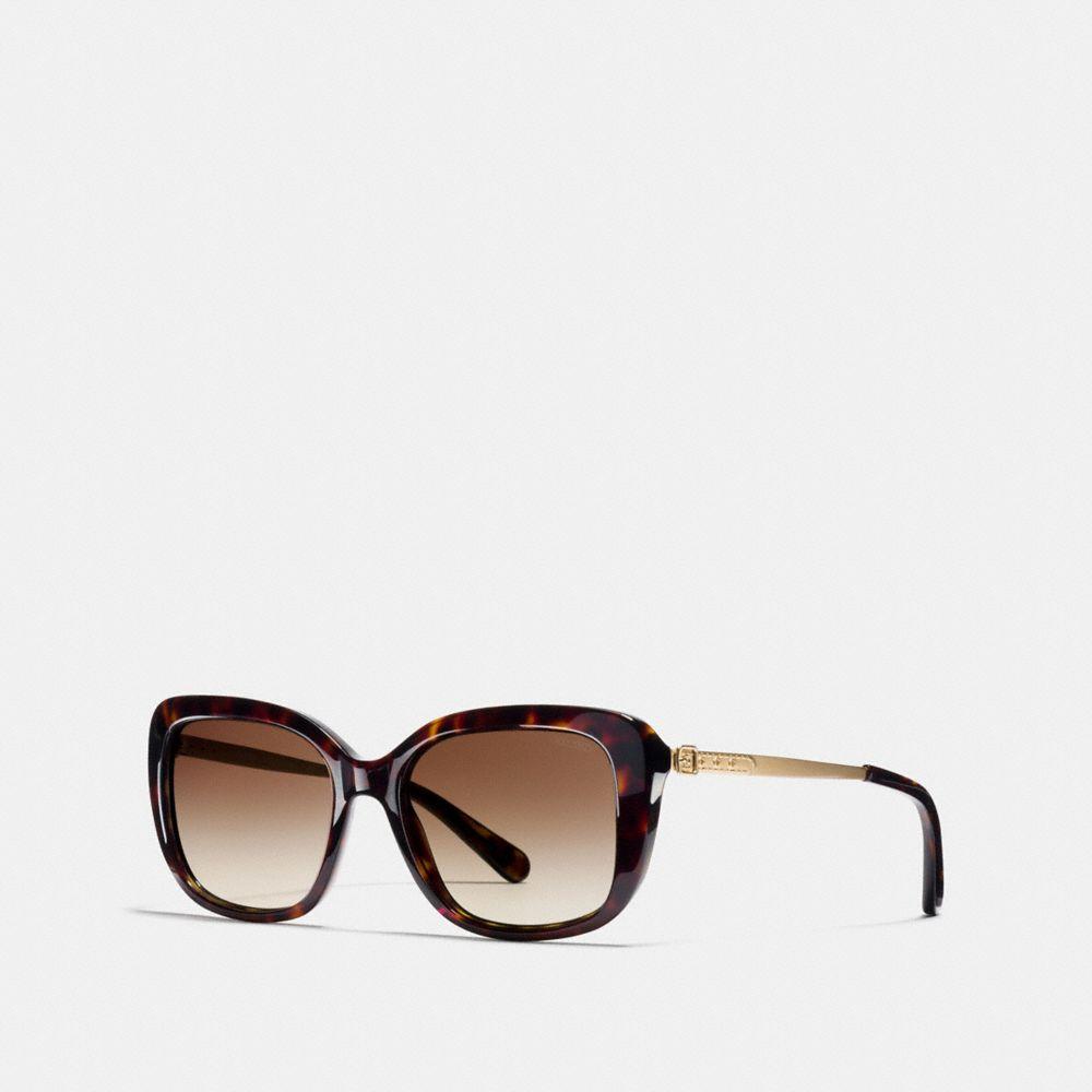 buckle square sunglasses