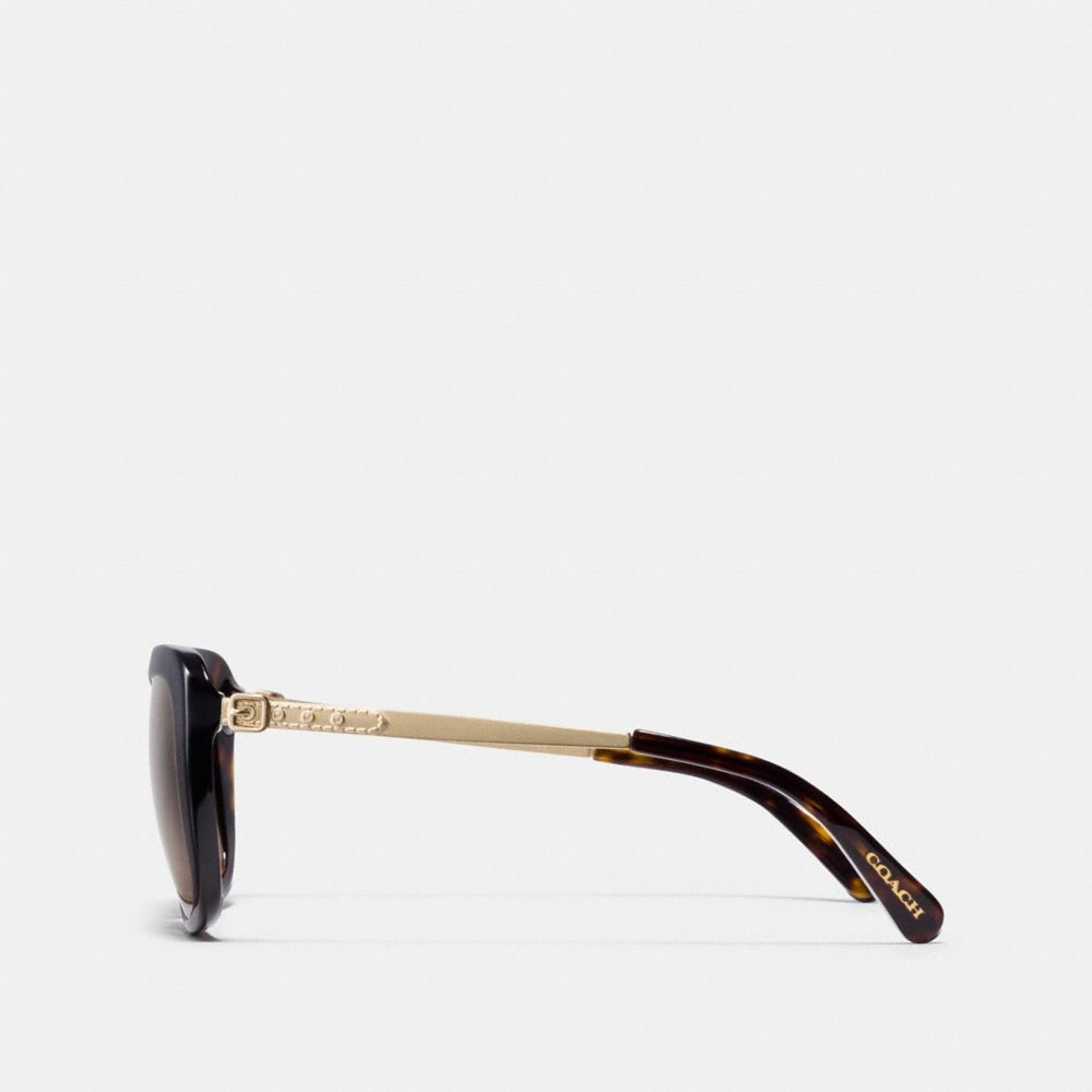 Coach Buckle Square Sunglasses Alternate View 3