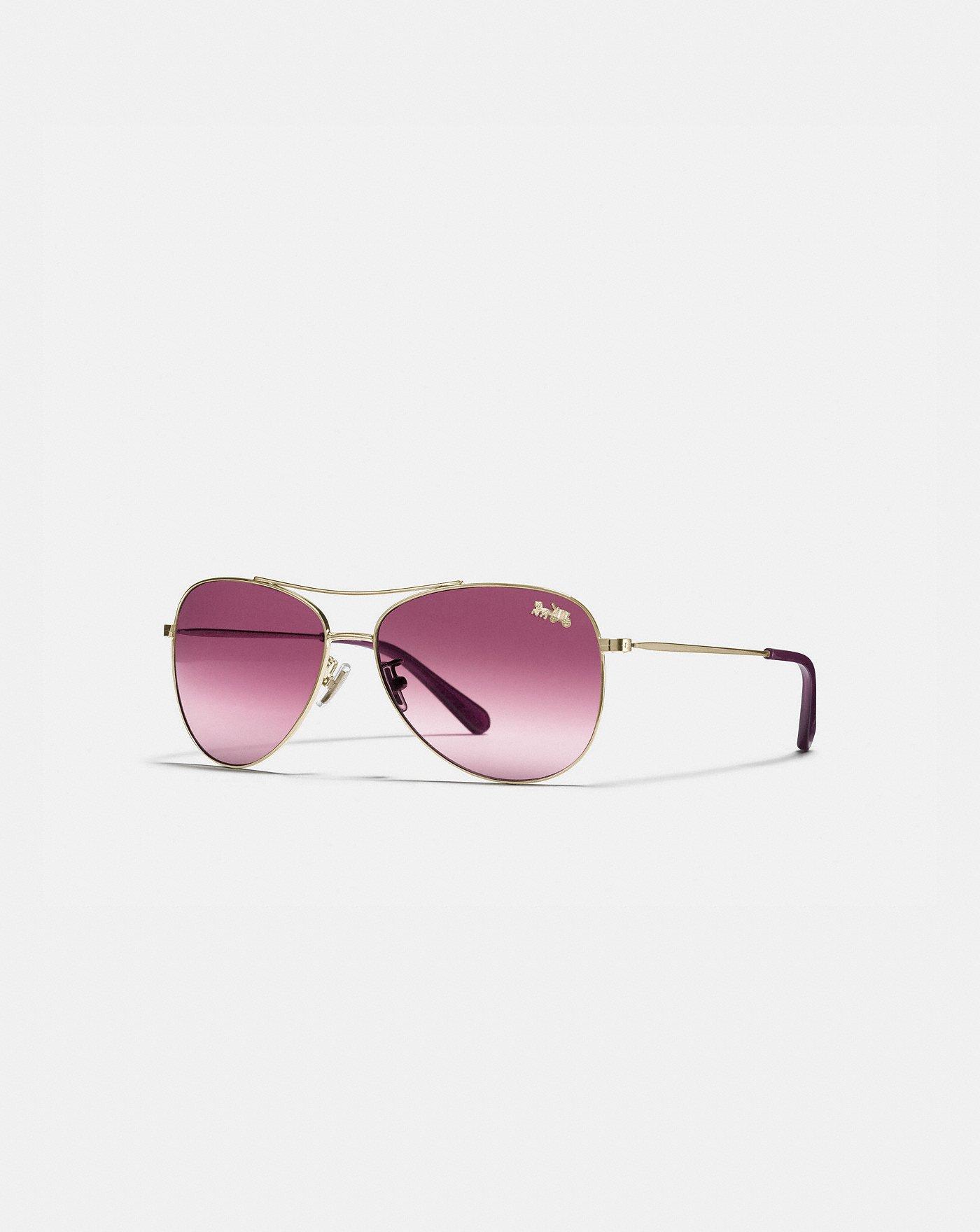 378ac42fa2db4 Thin Metal Pilot Sunglasses