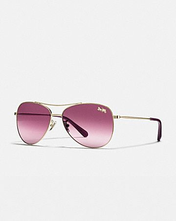 93f79e1e572d THIN METAL PILOT SUNGLASSES ...