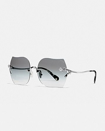 906be518a3 RIMLESS TEA ROSE SUNGLASSES ...