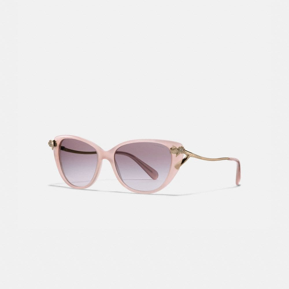 COACH TEA ROSE SUNGLASSES