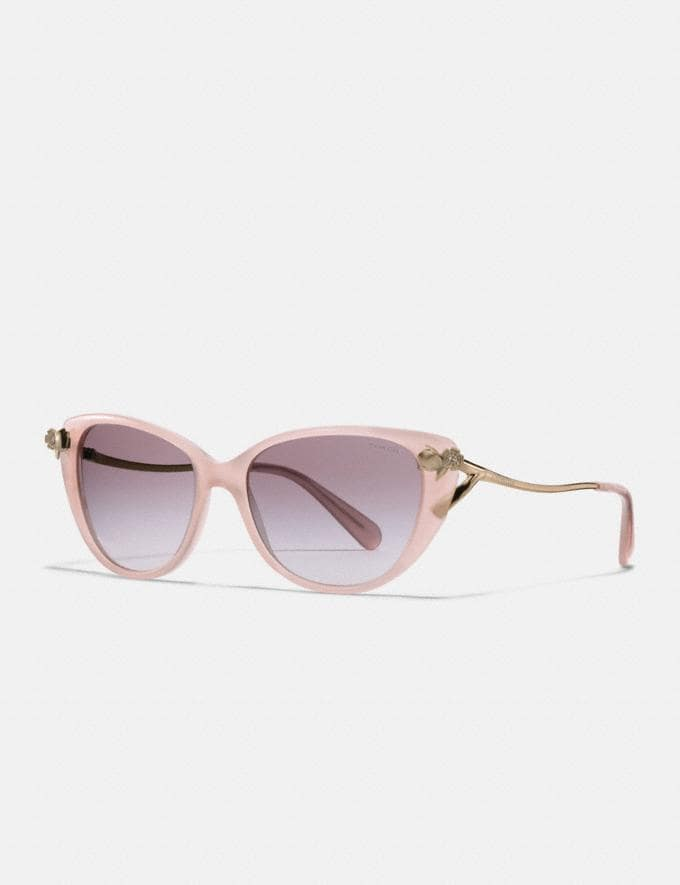 Coach Tea Rose Sunglasses Milky Pink Blush SALE Women's Sale Accessories