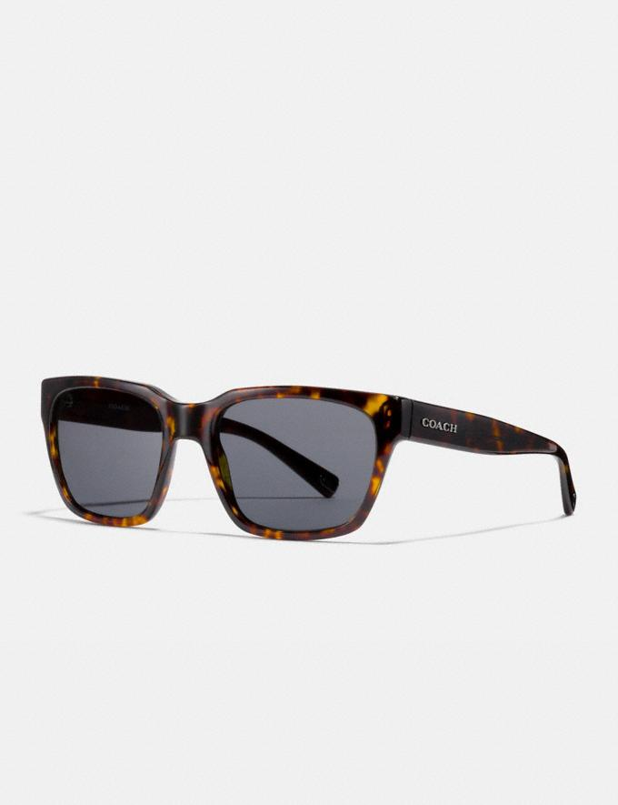 Coach Varick Square Sunglasses Dark Tortoise Gifts For Him Under $300
