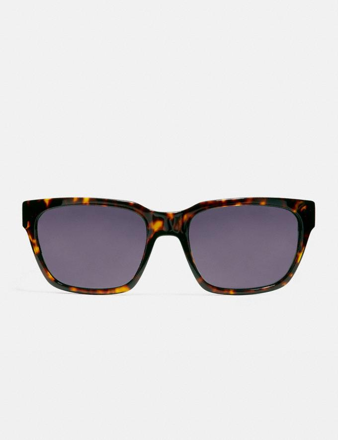Coach Varick Square Sunglasses Dark Tortoise Gifts For Him Under $300 Alternate View 2
