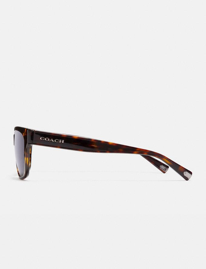 Coach Varick Square Sunglasses Dark Tortoise Gifts For Him Under $300 Alternate View 3