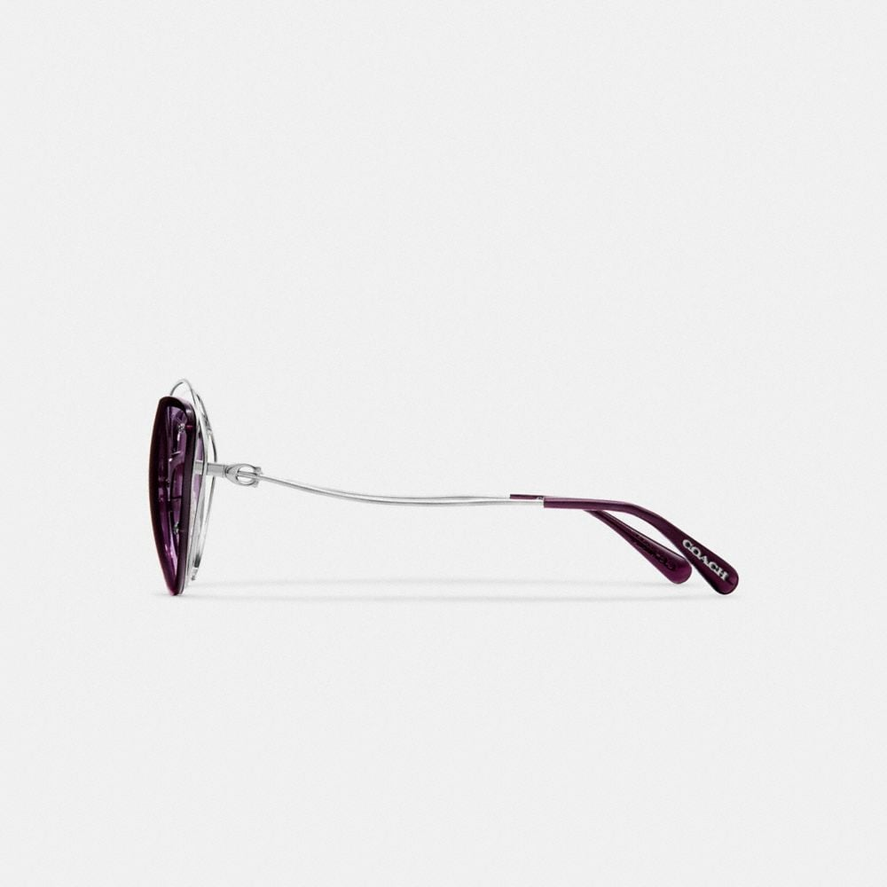 Coach Open Wire Cat Eye Sunglasses Alternate View 3