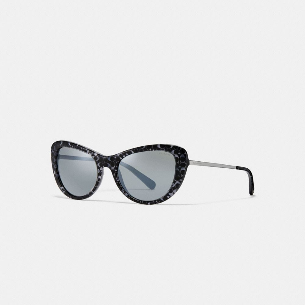 Coach Ombre Signature Cat Eye Sunglasses