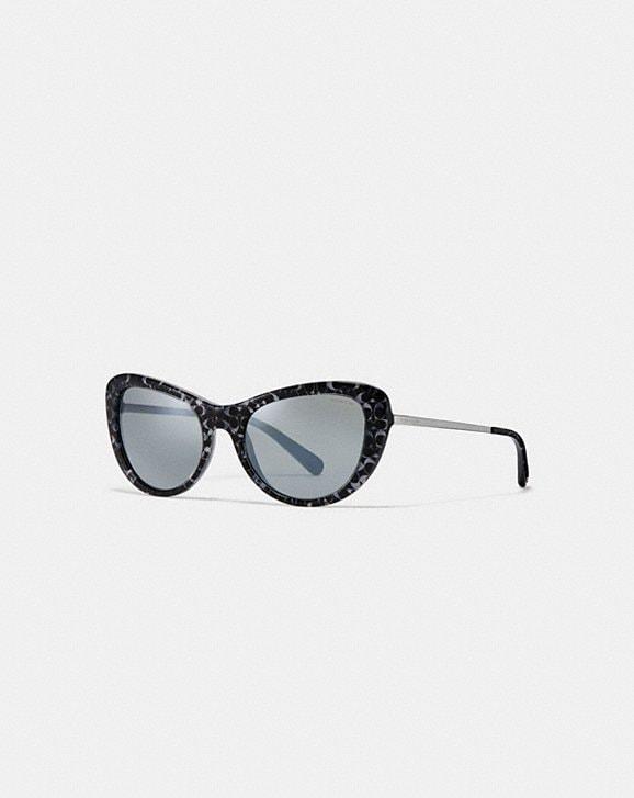 9b39c7aa5dce0 ... discount code for coach ombre signature cat eye sunglasses cc04d 27800