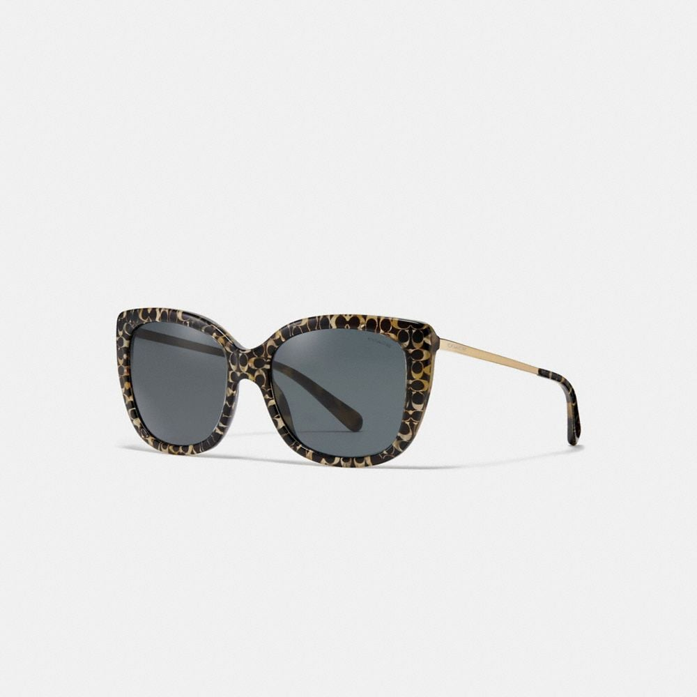 Coach Ombre Signature Square Sunglasses