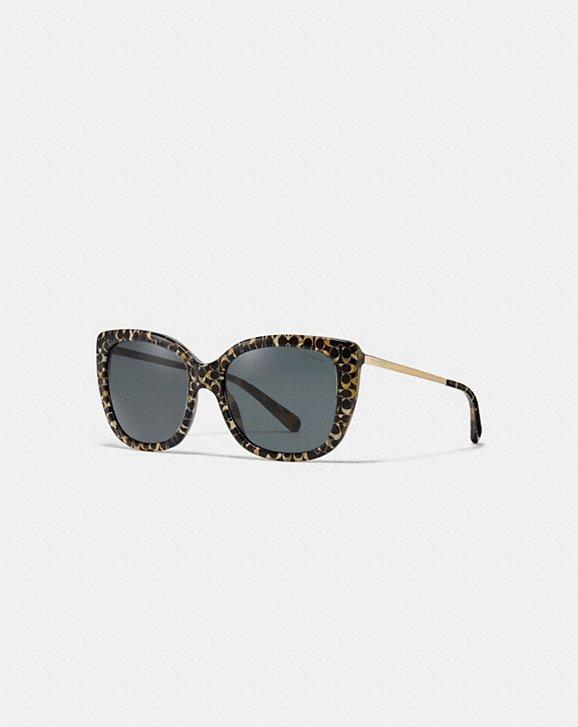 4e4f4038cb COACH  Ombre Signature Square Sunglasses