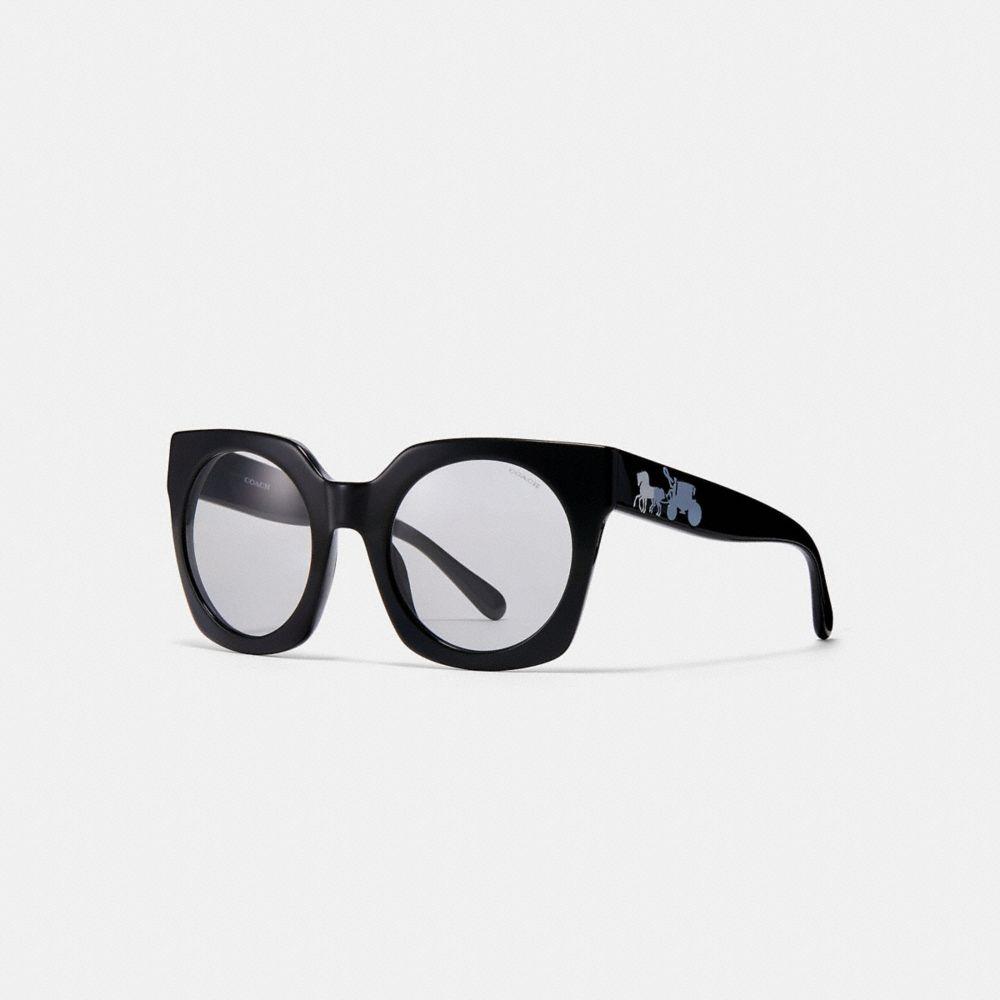 Coach Horse and Carriage Hologram Sunglasses