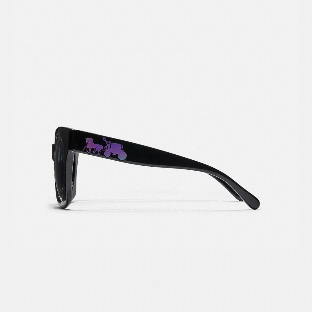 Coach Horse and Carriage Hologram Sunglasses Alternate View 3