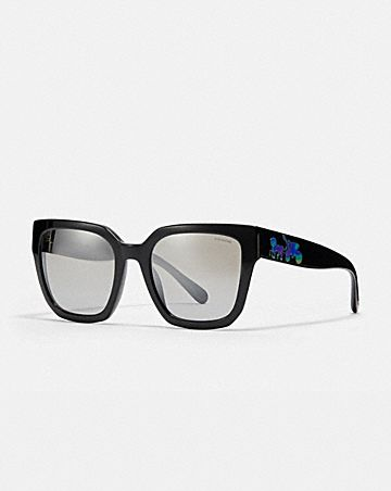 43b71c23ad18c HORSE AND CARRIAGE HOLOGRAM SQUARE SUNGLASSES ...