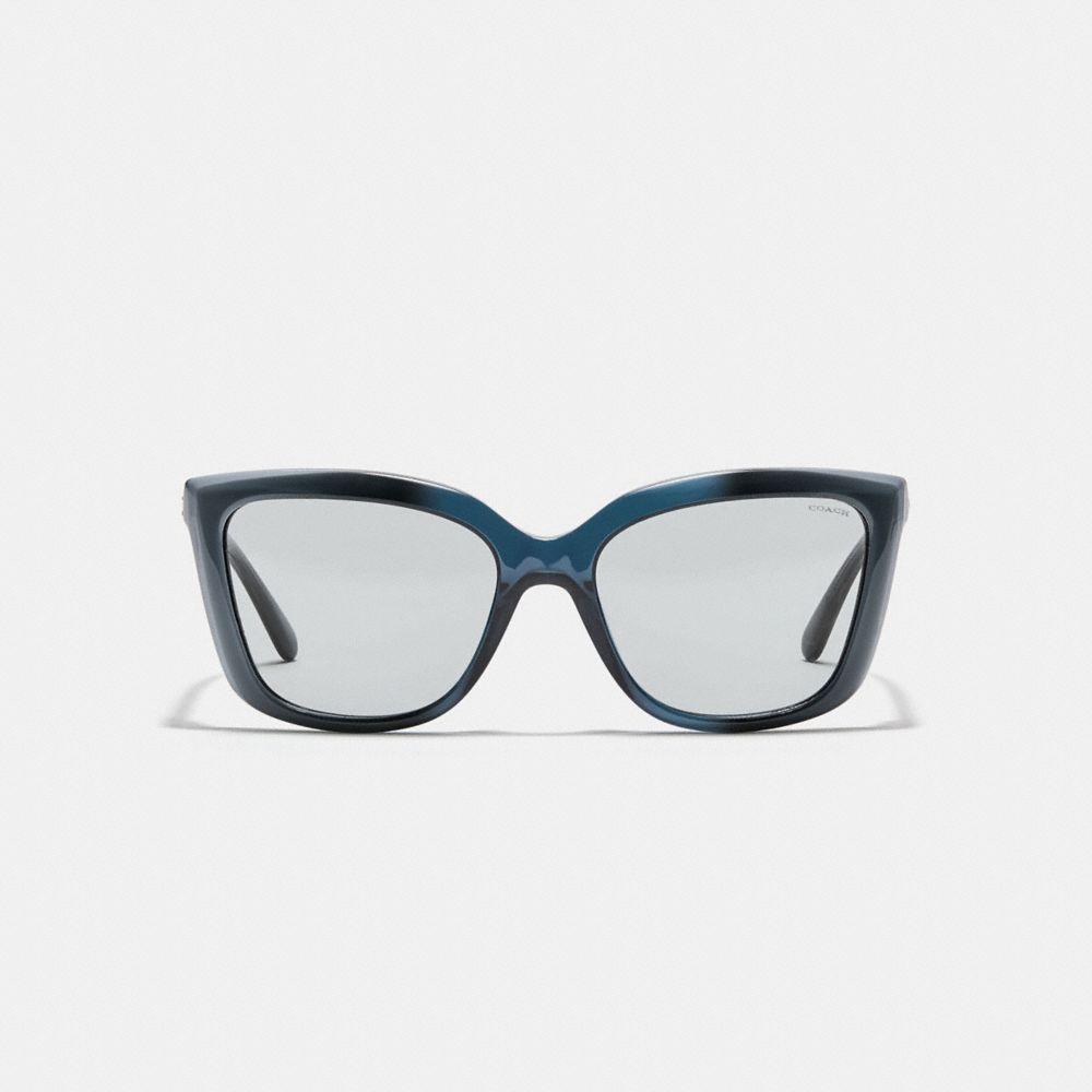 Coach Beveled Edge Square Sunglasses Alternate View 2