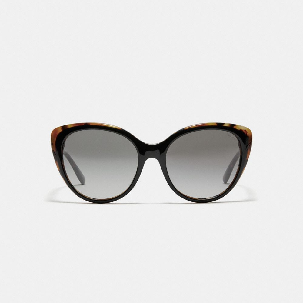 Coach Beveled Edge Cat Eye Sunglasses Alternate View 2