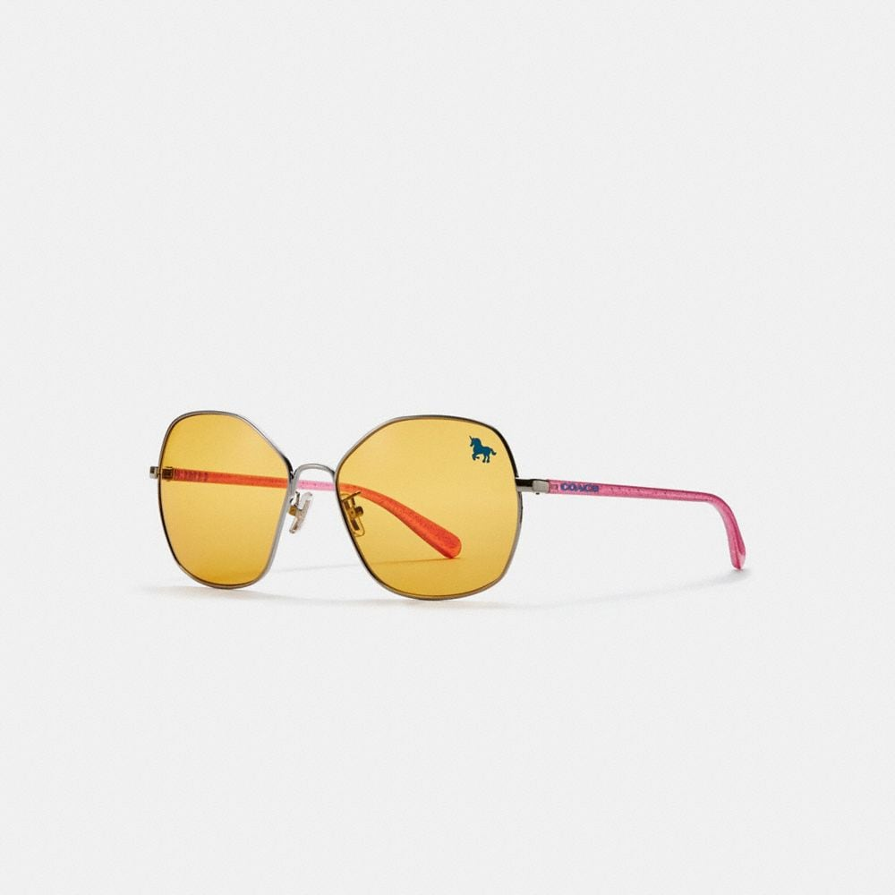 Coach Shaped Sunglasses