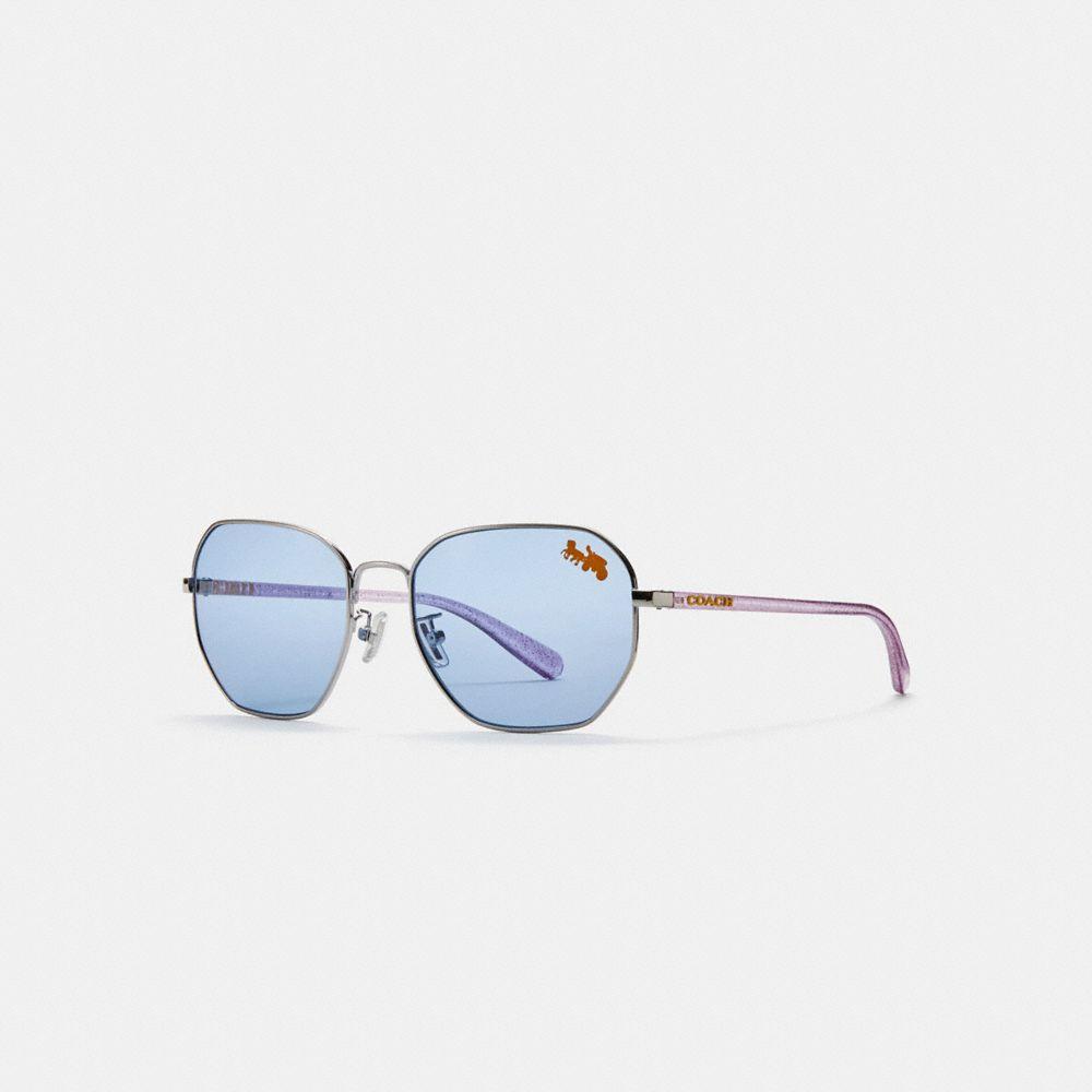 Coach Shaped Sunglasses