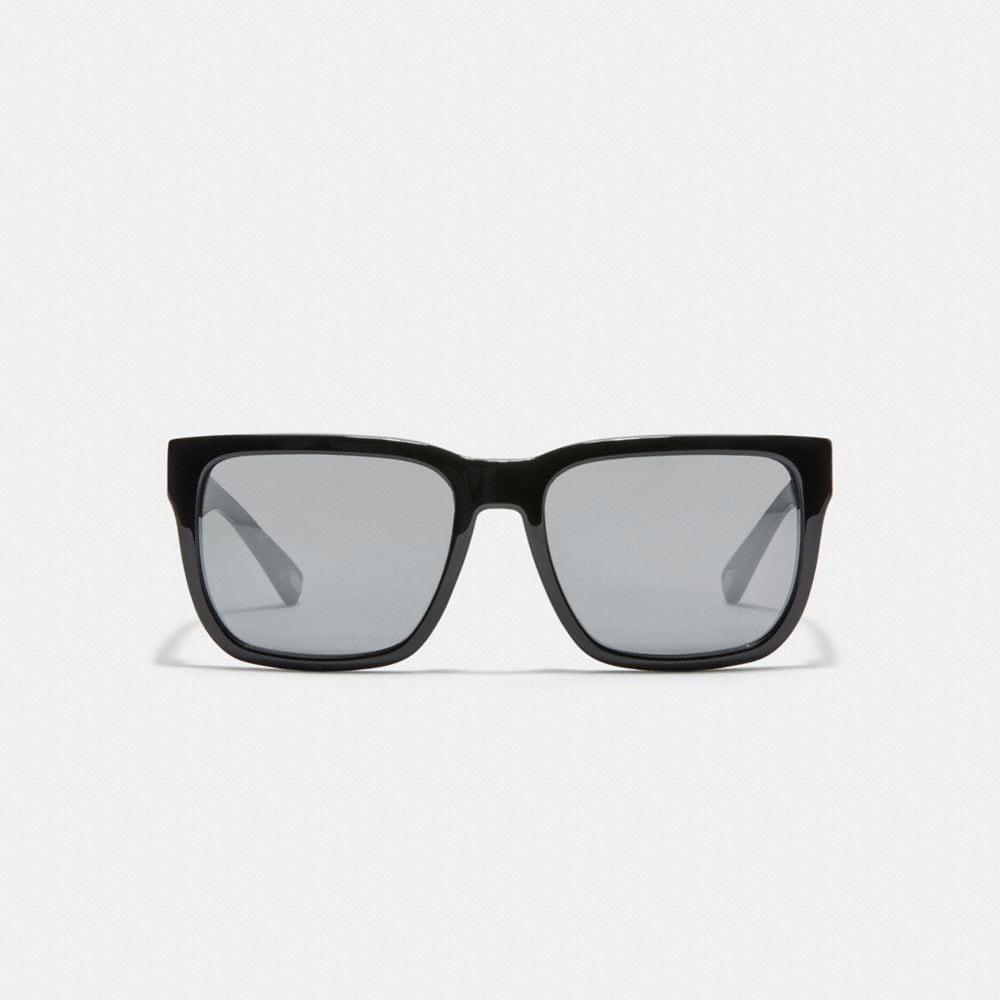 Coach Ian Signature Square Sunglasses