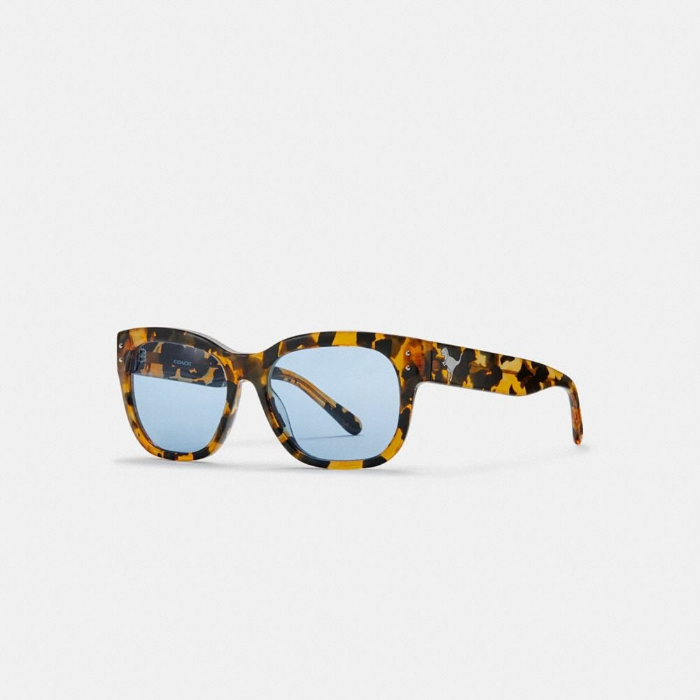 Coach Eli Rexy Square Sunglasses