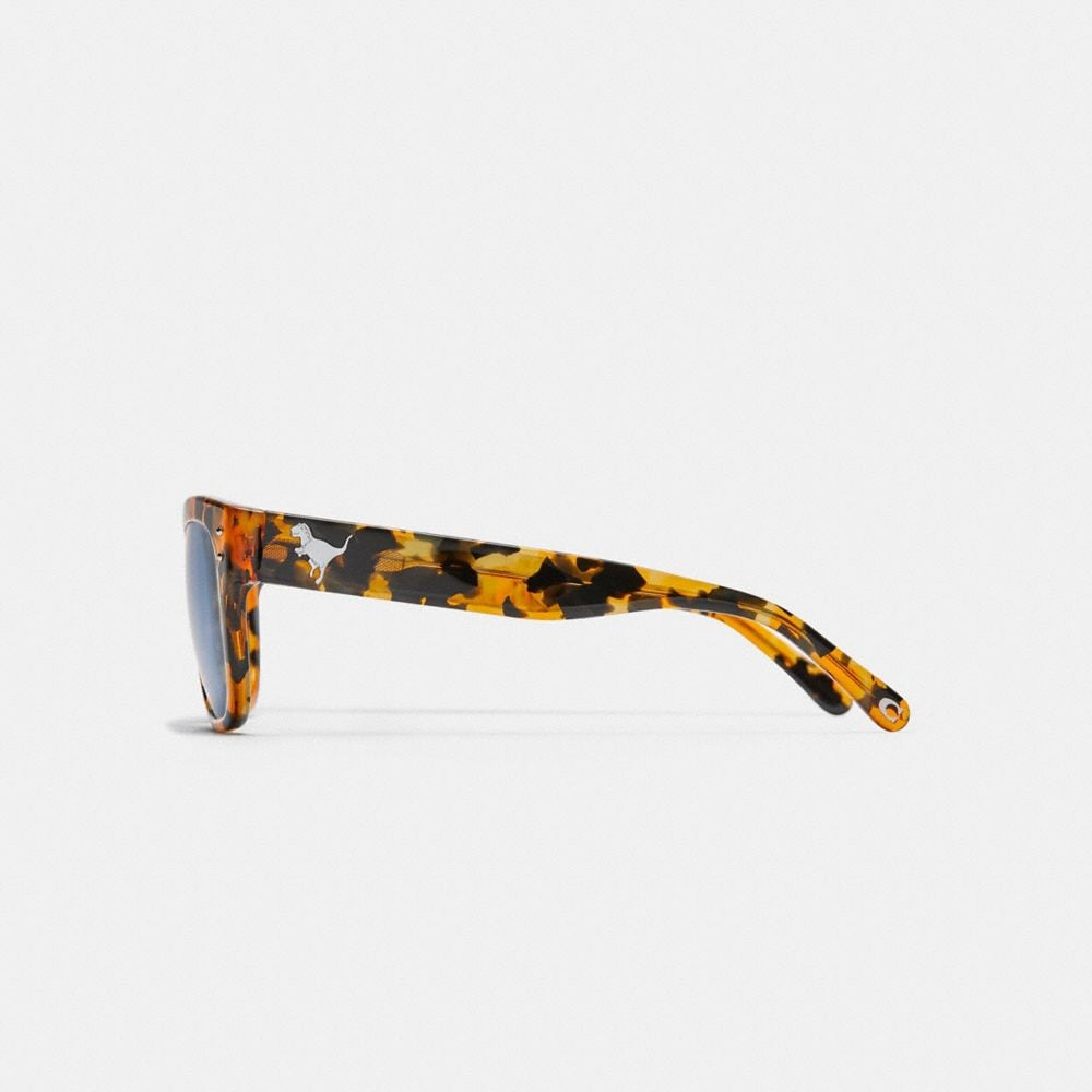 Coach Eli Rexy Square Sunglasses Alternate View 3