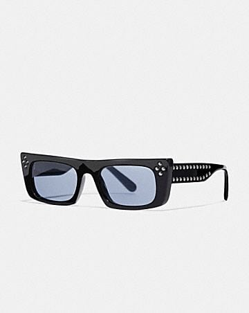 STUDDED FRAME GLASSES