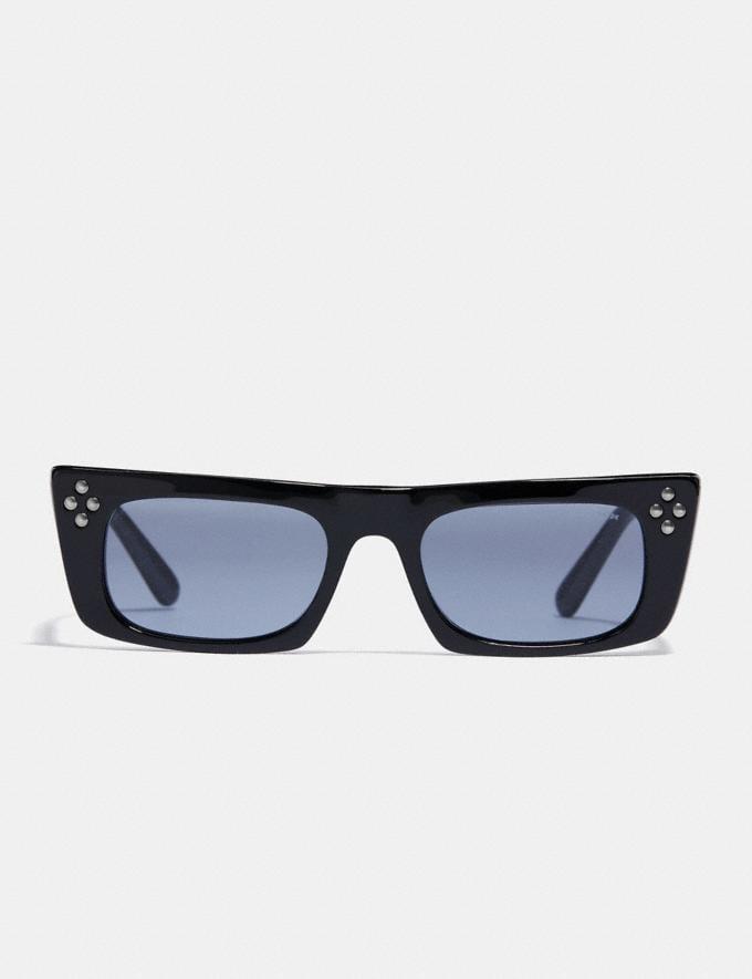 Coach Studded Frame Glasses Black  Alternate View 1