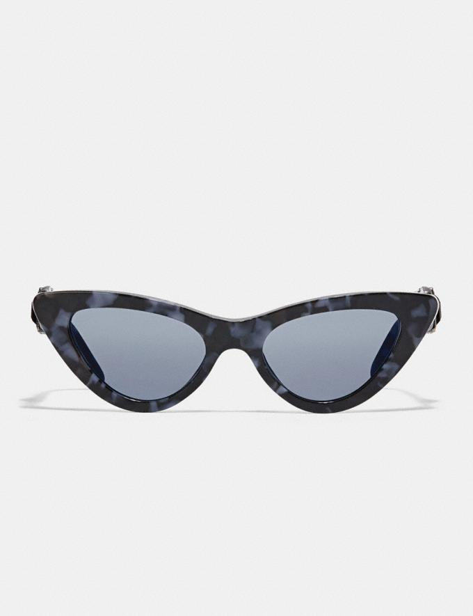 Coach 1941 Cat Eye Sunglasses Cornflower Tortoise  Alternate View 1